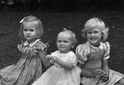 The three eldest daughters of Sir Brian Wyldbore-Smith