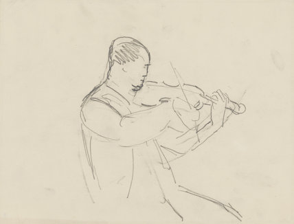 Unknown violinist