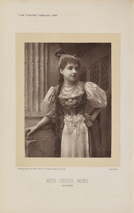 Jessie Bond as Nanna in 'His Excellency'
