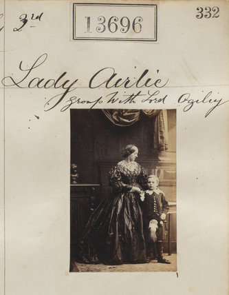 Henrietta Blanche (née Stanley), Countess of Airlie; David William Stanley Ogilvy, 6th Earl of Airlie