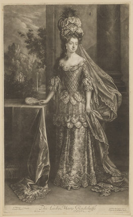 Mary Radcliffe (née Tudor), Countess of Derwentwater