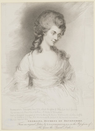 Georgiana Cavendish (née Spencer), Duchess of Devonshire