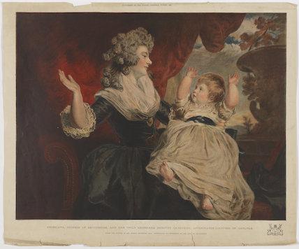 Georgiana Cavendish (née Spencer), Duchess of Devonshire; Georgiana Dorothy (née Cavendish), Countess of Carlisle