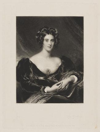 Sarah Garay Copley (née Brunsden), Lady Lyndhurst