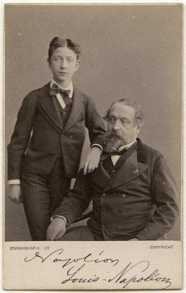 Napoléon, Prince Imperial; Napoléon III, Emperor of France