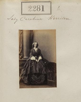 Caroline Margaret (née Fox-Strangways), Lady Kerrison