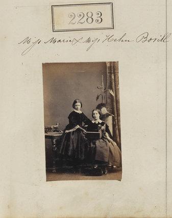 Helen Sim (née Bovill); Mary Bovill