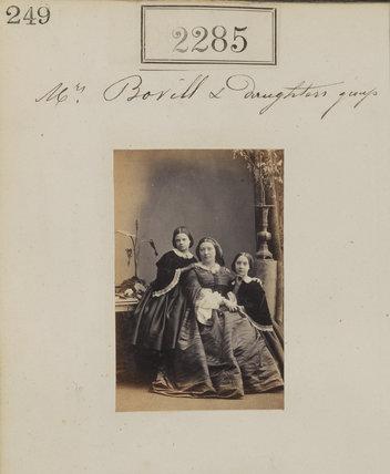 Helen Sim (née Bovill); Maria (née Bolton), Lady Bovill; Mary Bovill