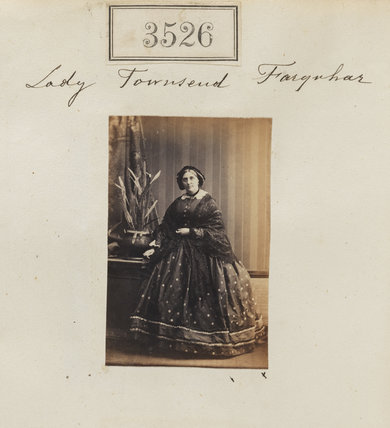 Erica Catherine (née Mackay), Lady Townsend-Farquhar