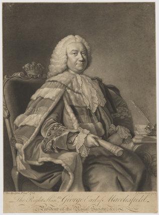 George Parker, 2nd Earl of Macclesfield