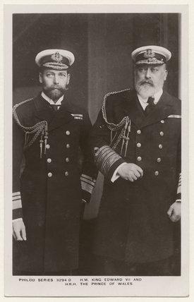 King George V; King Edward VII
