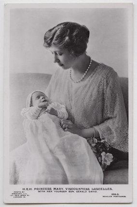 Hon. Gerald David Lascelles; Princess Mary, Countess of Harewood
