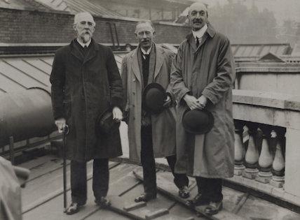 Harold Lee-Dillon, 17th Viscount Dillon; James Donald Milner; Hon. Frederick Henry Arthur Wallop
