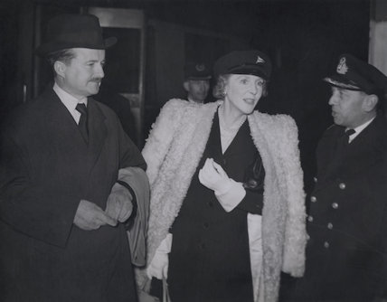 (Alfred) Duff Cooper, 1st Viscount Norwich; Lady Diana Cooper (Diana (née Manners), Viscountess Norwich)