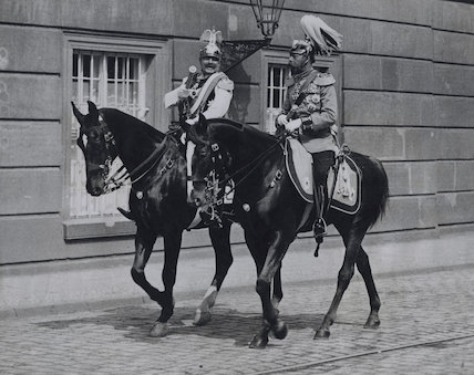 Wilhelm II, Emperor of Germany and King of Prussia; King George V