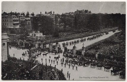 'The passing of King Edward VII'