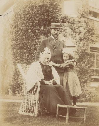 Marianne Costelloe (née Conn); Benjamin Francis Conn ('Frank') Costelloe; Ray Strachey