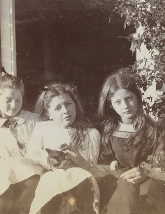 Julia Frances Strachey and friends