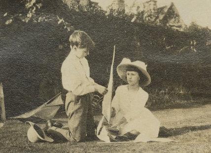 Dermod MacCarthy; Barbara Strachey (Hultin, later Halpern)