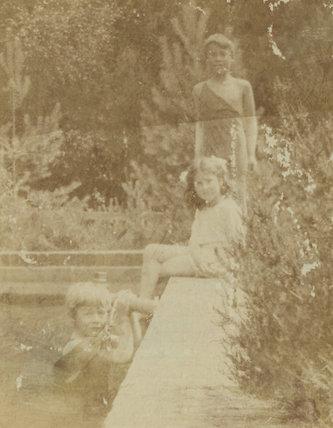 Herbert Fisher; Barbara Strachey (Hultin, later Halpern); Charles Villiers