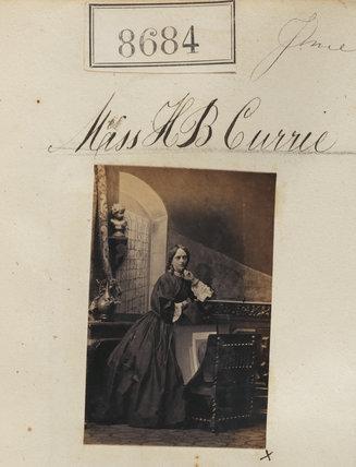 Henrietta Blackwood Bonham (née Currie)