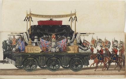 The Funeral Procession of Arthur, Duke of Wellington