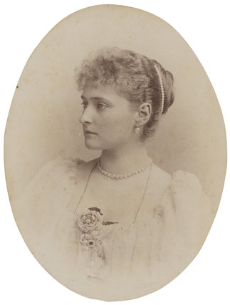Alexandra, Empress of Russia (née Princess Alix of Hesse and by Rhine)