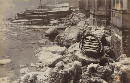 'The Ice in the Thames at Greenwich'