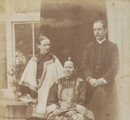 Louisa Katherine Stewart (née Smyly); Mrs Ahok; Robert Warren Stewart