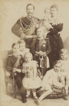 'Emperor and Empress of Germany and family'