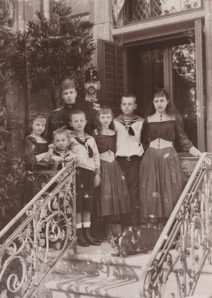 'Duke and Duchess of Cumberland and family'