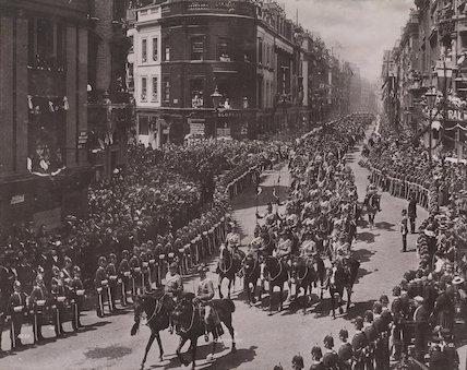 Queen Victoria's Diamond Jubilee Procession - The Colonial Contingent