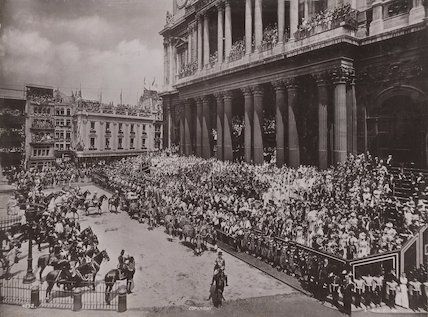 Queen Victoria's Diamond Jubilee Procession - In front of St Paul's Cathedral
