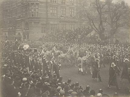 Queen Victoria's funeral procession