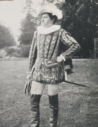H. Brown as Ambrose Dudley, 3rd Earl of Warwick at the Warwick Pageant