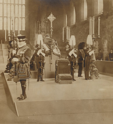 Lying in State of King Edward VII in Westminster Hall