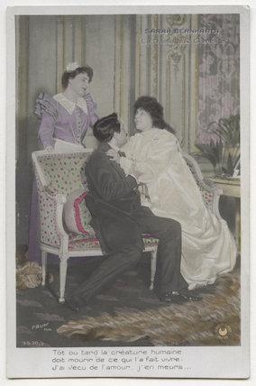 Sarah Bernhardt in 'La Dame aux Camélias'