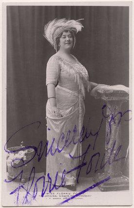 Florrie Forde (née Florence Flanagan)