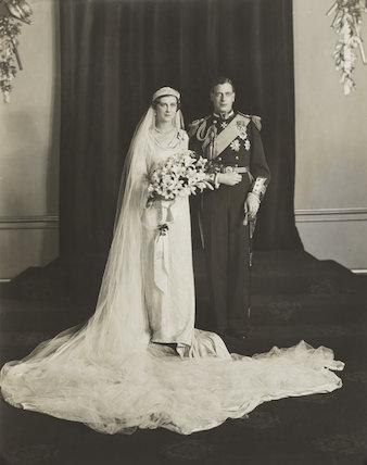 The wedding of Prince George, Duke of Kent and Princess Marina, Duchess of Kent