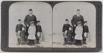 'From the cares of Empire to the joys of home - Edward VII and his grandchildren, Balmoral Castle'