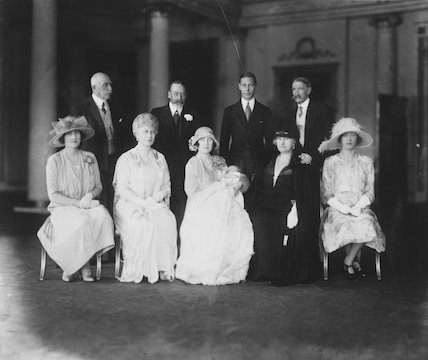 Christening of Queen Elizabeth II