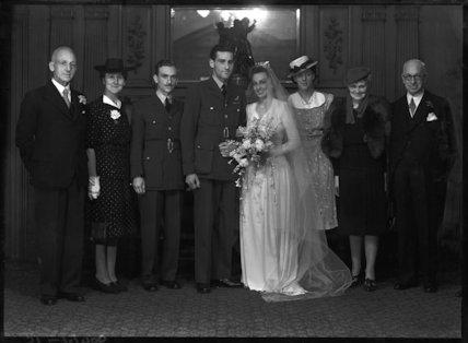 Charles Ronald Driver; Anne Frances Driver (née Wilshaw)