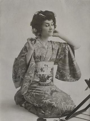 Elsie McDermid as Yum-Yum in 'The Mikado'