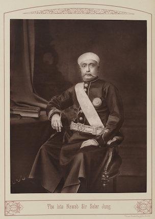 Sir Salar Jang of Hyderabad