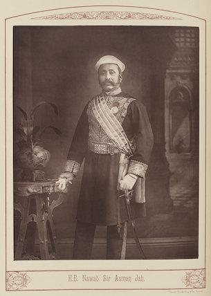 Sir Asman Jah of Hyderabad