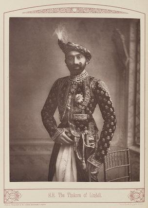 Sir Jaswantsinghji Fatehsinghji, Thakur Sahib of Limbdi