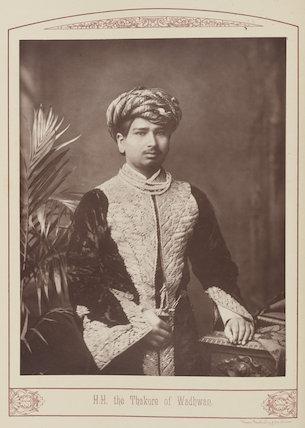 Balsingh Chandrasingh Thakur Sahib of Wadhwan