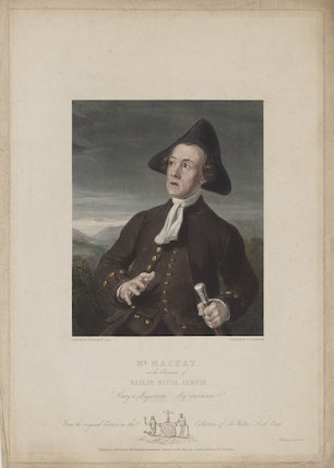 Charles Mackay as Bailie Nicol Jarvie in Walter Scott's 'Rob Roy'