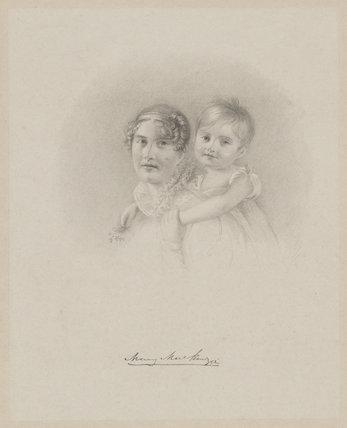 Mary Mackenzie and child