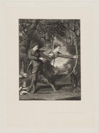 The Archers (John Dyke Acland; Dudley Alexander Sydney Cosby, Baron Sydney)